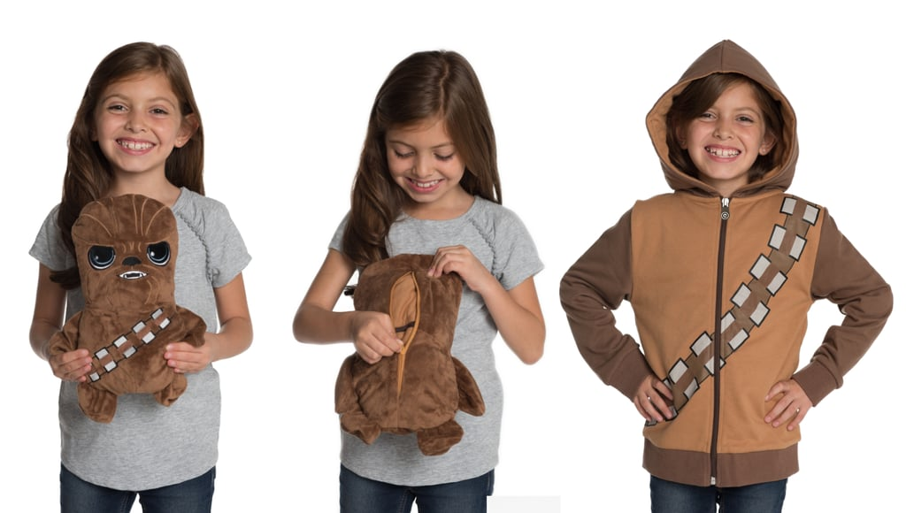If Your Kid Loves Star Wars, They'll Flip Over These Plush Toys That Turn Into Hoodies