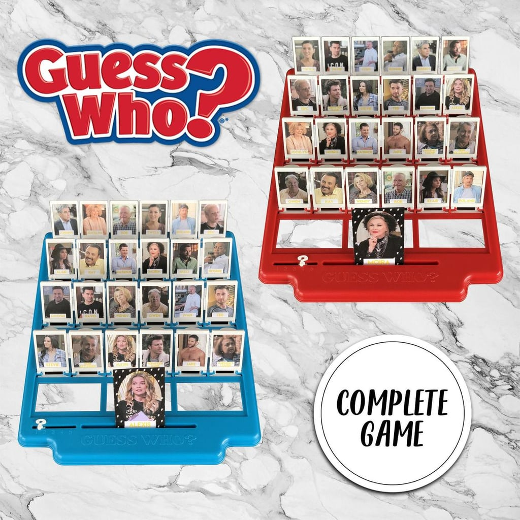 You Can Get a Schitt's Creek Guess Who? Game on Etsy