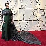 Olivia Colman at the 2019 Oscars