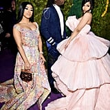 Hennessy Carolina, Offset, and Cardi B at the 2019 Diamond Ball