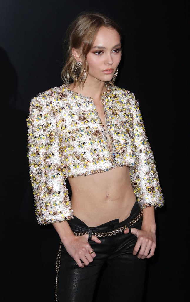 Lily Rose Depp's Cropped Chanel Jacket September 2016