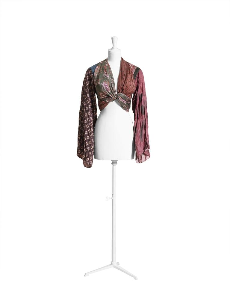 Silk top ($149)