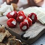 Make-Ahead Appetizer: Peppadew Peppers Stuffed With Whipped Feta