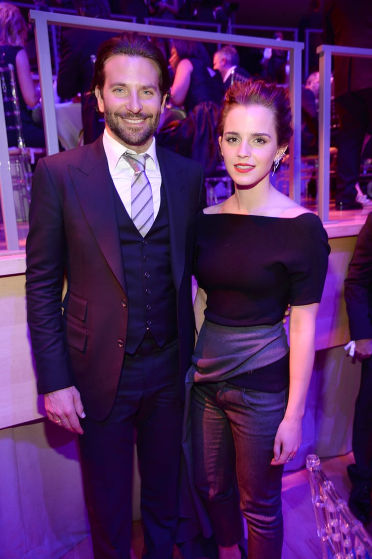 Bradley Cooper Looked Like He Was Touched By An Angel