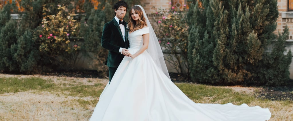 See Debby Ryan's Wedding Dress
