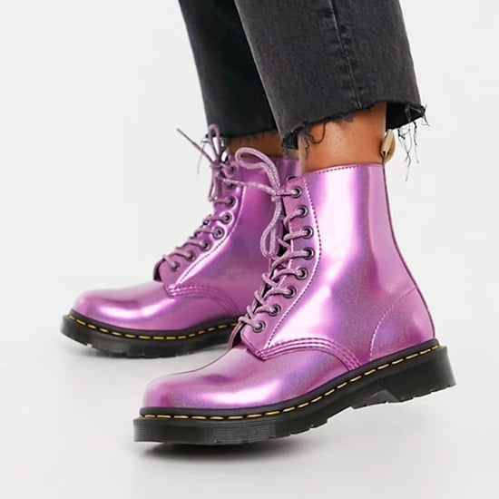 Dr. Martens Metallic Purple Boots | 2021