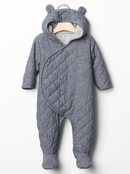 Baby gap quilted chambray one piece 25 adorable outfits for Chambre one piece