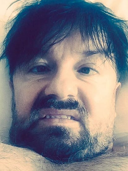 Host Ricky Gervais Shows Off His Disheveled Look Pre-Golden Globes - and Promises to 'Offend'