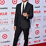 Diego Boneta was all smiles at the ALMA Awards.