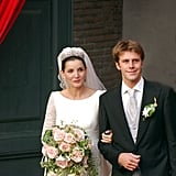 Prince Emanuele and Clotilde Courau
