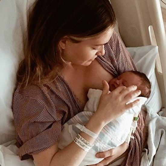 Photos of Aaron Paul and Lauren Parsekian's Daughter Story