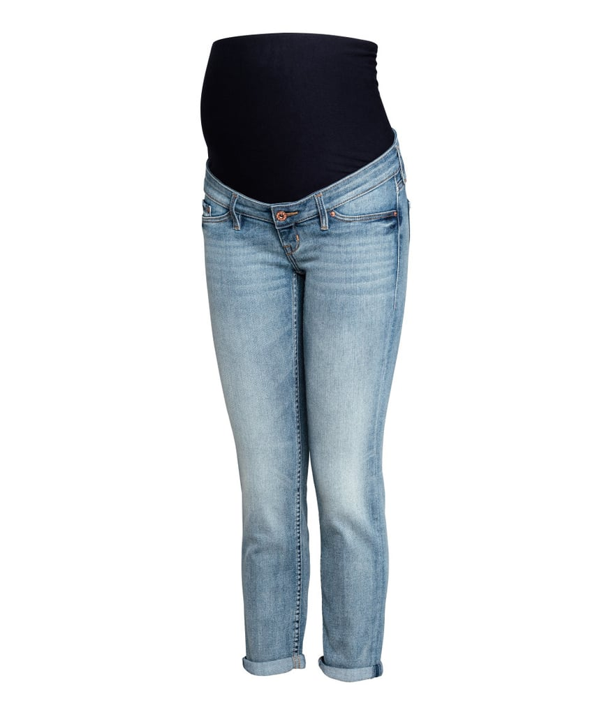 b6c75b57973fa H&M Mama Skinny Ankle Jeans | Maternity Clothes For Fall | POPSUGAR ...