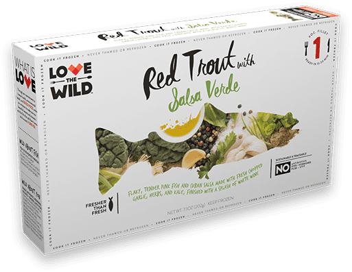 LoveTheWild Frozen Fish and Sauce