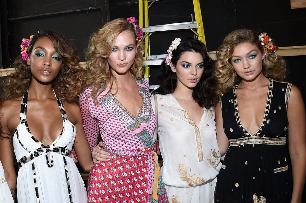 Add Jourdan Dunn to the mix — and some serious faces.