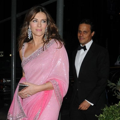 Elizabeth Hurley and Husband Arun Nayar Out in NYC