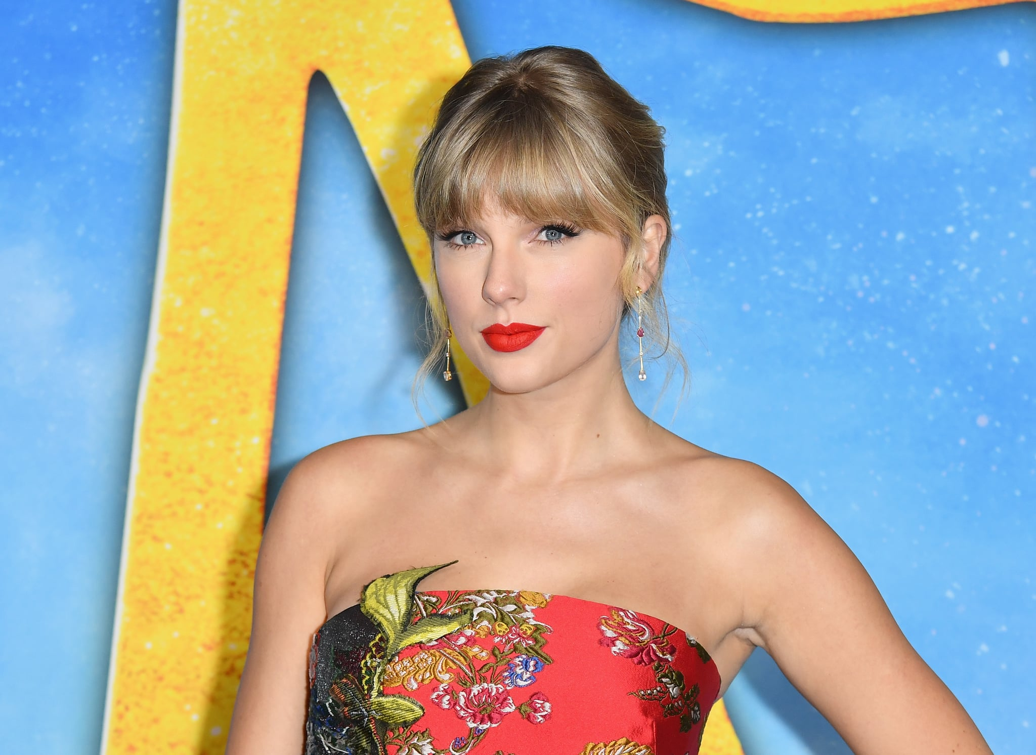 US singer Taylor Swift arrives for Universal Pictures' world premiere of