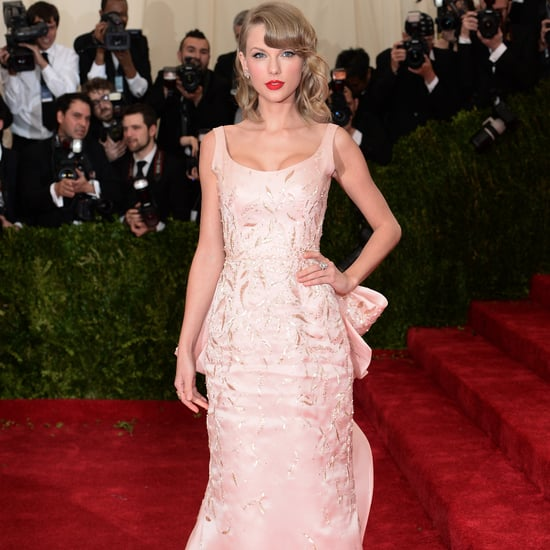 Taylor Swift Oscar de la Renta Dress at Met Gala 2014