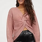 Knot-Detail Sweater