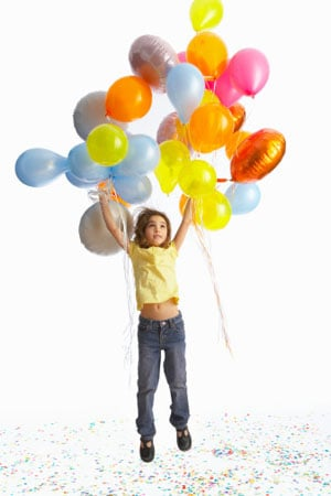 How Many Balloons to Lift a Child