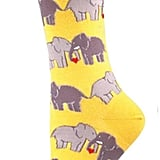 Elephant Love Socks ($7)