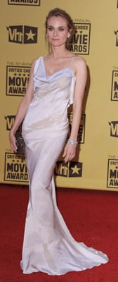 Diane Kruger Wears Donna Karan to 2010 Critics' Choice Awards