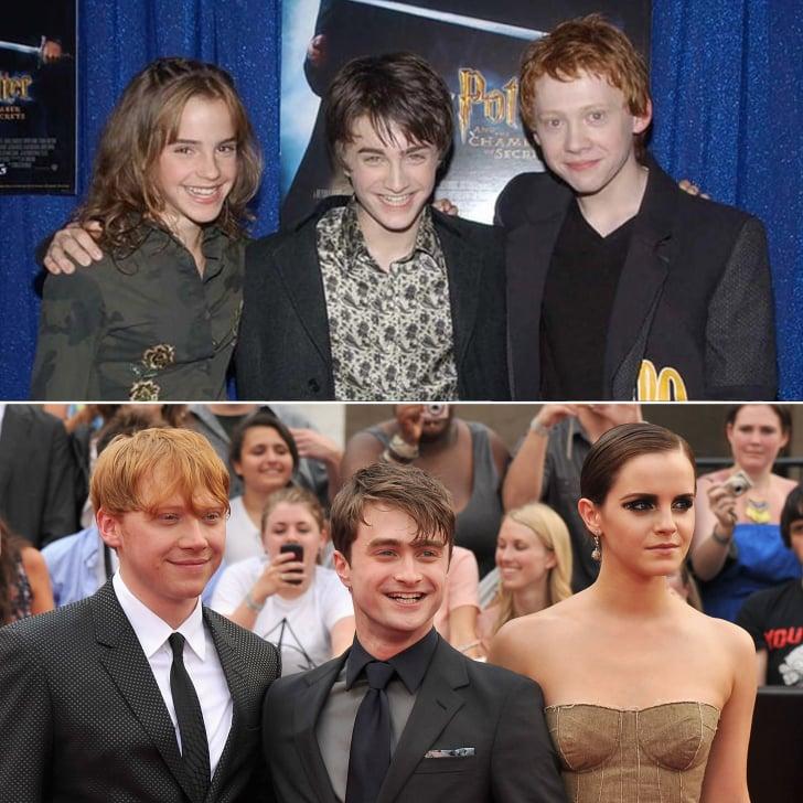 Harry Potter Cast Then And Now Popsugar Celebrity