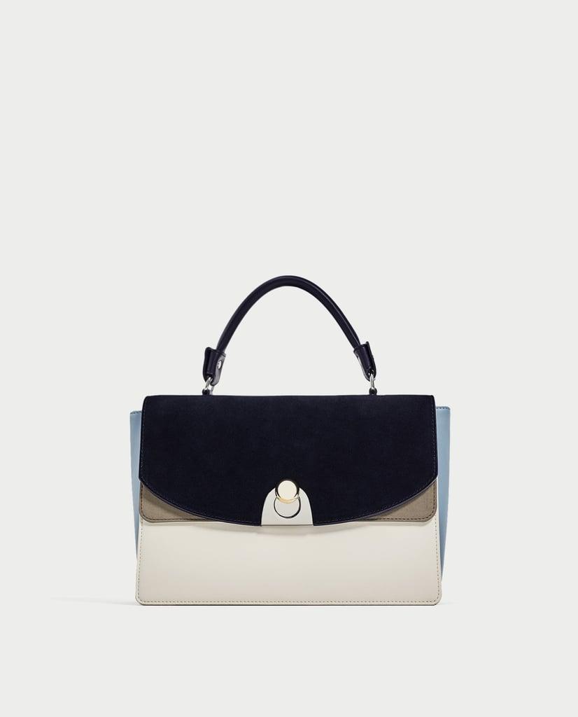 Zara Contrasting City Bag