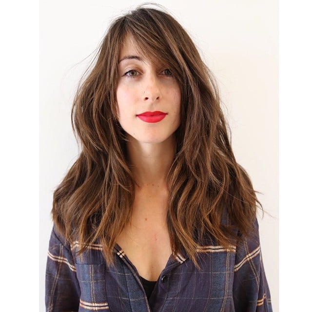 how to get side bangs