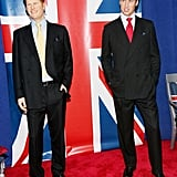 In November 2006, William and Harry went on tour to NYC.