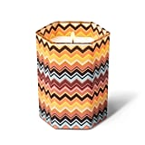 Missoni Tuscan Sunrise Zig Zag Glass Jar Candle