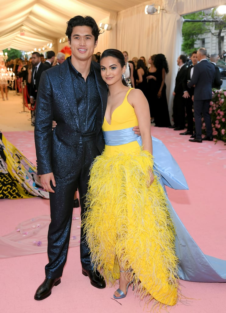"""Camila Mendes has made her Met Gala debut this year — and she didn't do it alone. The actress attended the star-studded event on May 6 with her boyfriend and Riverdale costar Charles Melton. Fellow costars and couple Lili Reinhart and Cole Sprouse were also at the event after memorably taking their relationship public at the 2018 Met Gala. (Madelaine Petsch, yet another costar, was also in attendance.) In an interview with POPSUGAR ahead of the Met Gala, Camila expressed her excitement about Met Gala debut. On the exaggerated camp theme inspired by Susan Sontag's 1964 essay """"Notes on 'Camp,'"""" Camila said, """"It's just a perfect year for me to come into this because our show is camp. It's a perfect first Met for me."""" See photos of the couple's glamorous red carpet appearance ahead.      Related:                                                                                                           These Met Gala Looks Are Dramatic Enough to Entertain You For the Rest of the Year"""