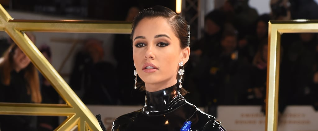Naomi Scott Wears Richard Quinn to Charlie's Angels Premiere