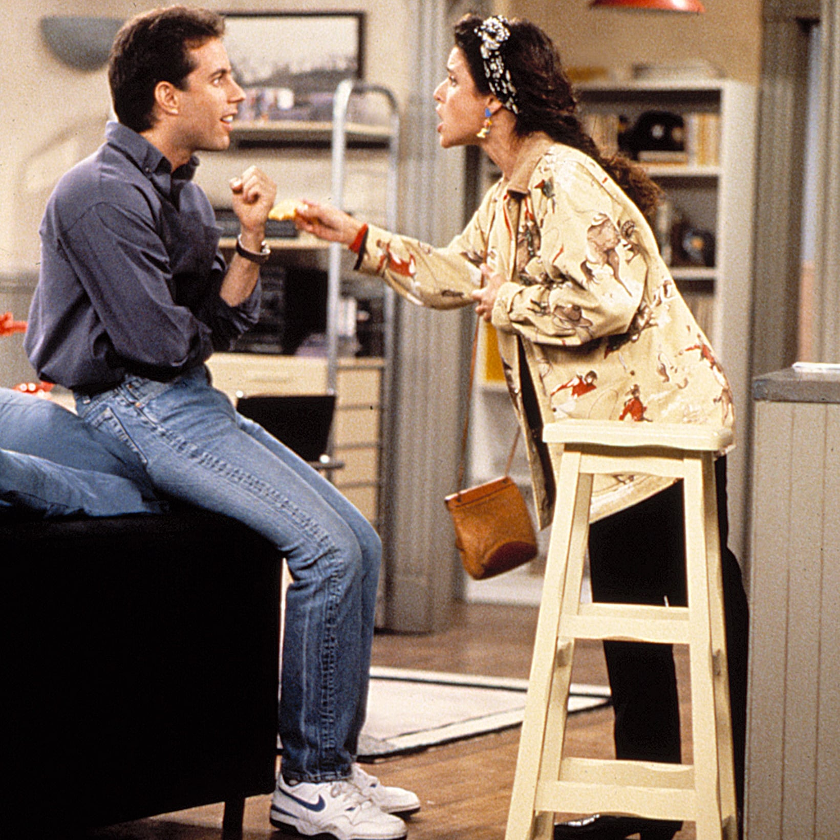 Sneaker Collection on Seinfeld