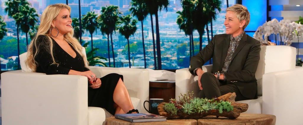 Jessica Simpson on Ellen May 2017 | Video