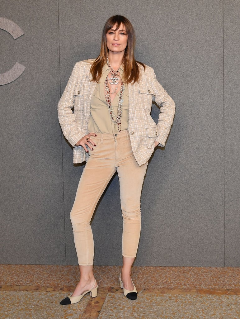 Caroline de Maigret Opted For a Cream Outfit