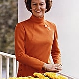 1974: Betty Ford Speaks About Breast Cancer