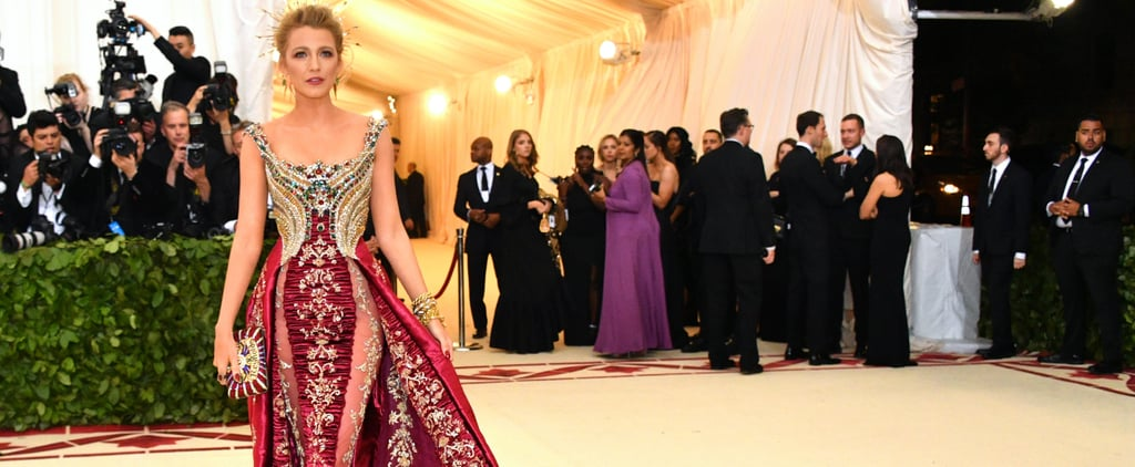 Blake Lively Reynolds Bag at the 2018 Met Gala