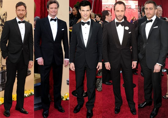Extensive Gallery of Photos of Men from the 2010 Oscars Red Carpet inlcuding Taylor Lautner, George Clooney, Matt Damon