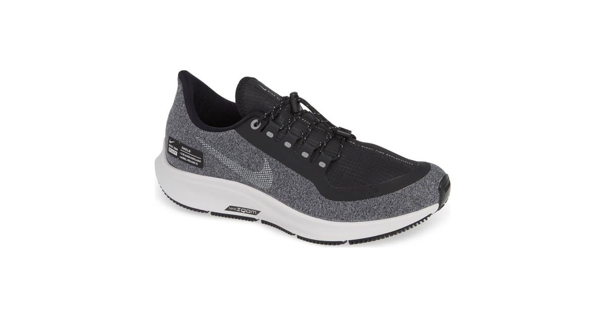 8aa91c03ec54 Nike Air Zoom Pegasus 35 Shield GS Water Repellent Running Shoe .