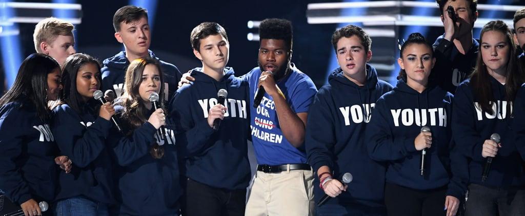 "Stoneman Douglas Show Choir ""Youth"" at 2018 Billboards Video"