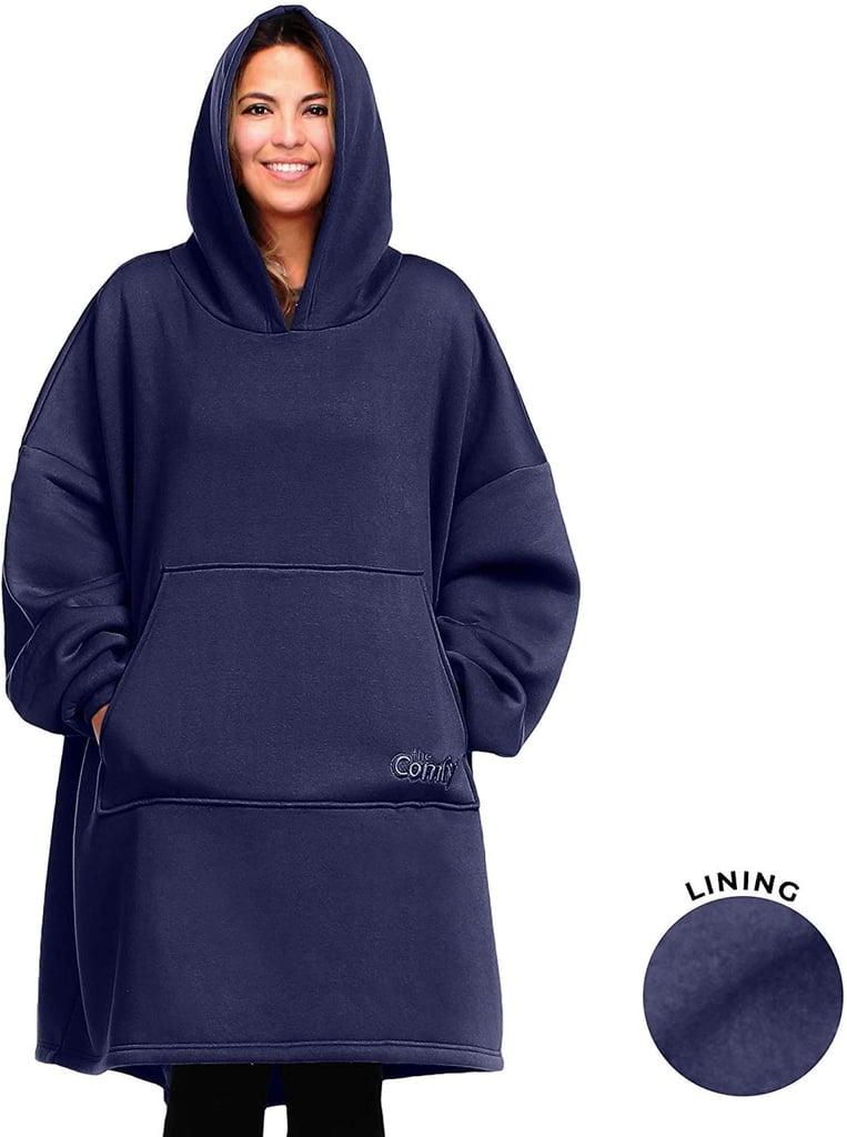 The Comfy Oversize Sweatshirt Hoodie in Blue