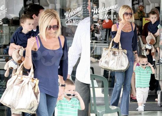 Cruz Beckham Is Still a Mama's Boy