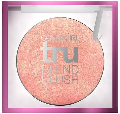 "CoverGirl TruBlend Blush ($10) was the final step for Zendaya's complexion. ""The end look is flawless, yet my skin shines through and I don't feel overly made up,"" she wrote."