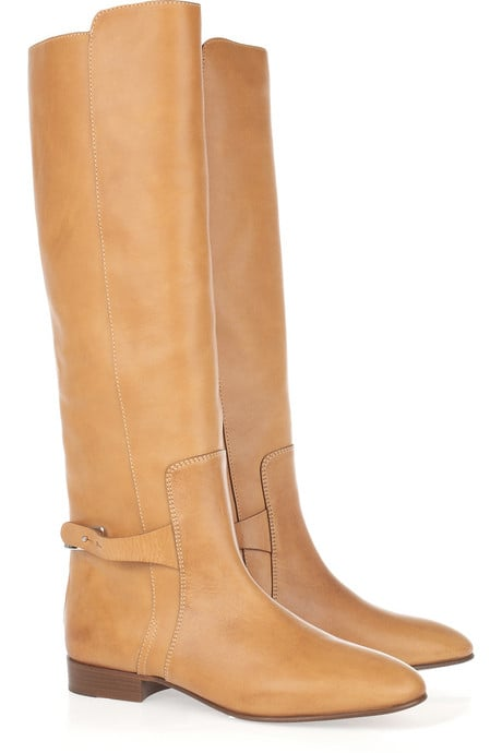 Chloé Tucson Leather and Metal Boots ($1095)