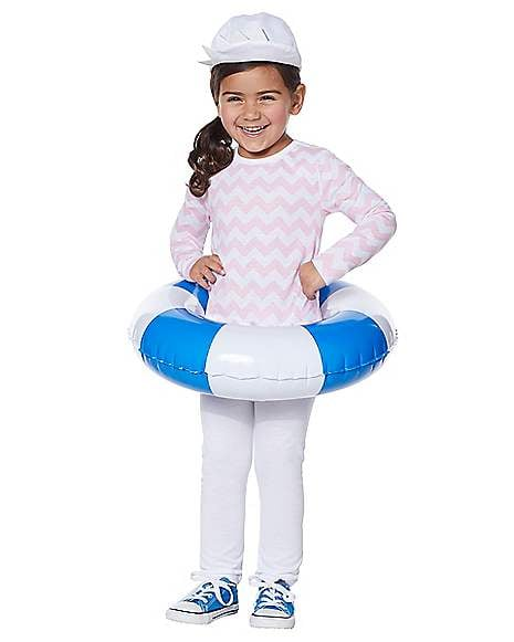 Toddler Pink Baby Shark Costume Kit With Sound Chip