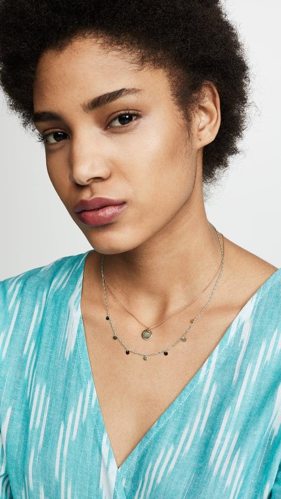 Shashi Multidisc Necklace