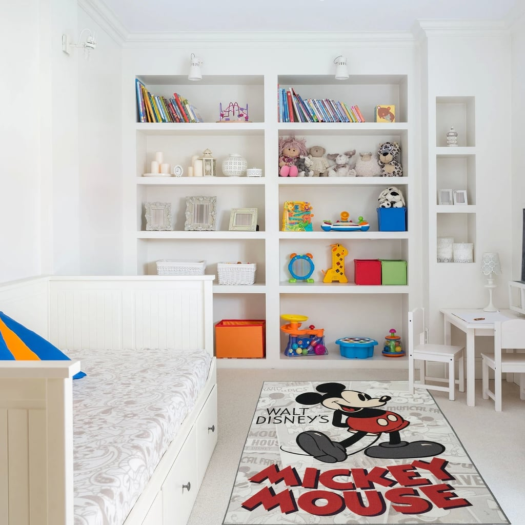Disney Mickey Mouse Red Rug