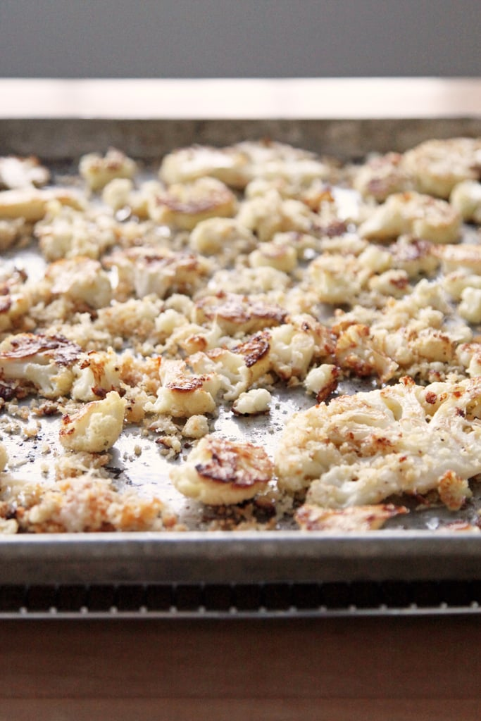 Roasted Cauliflower Snowflakes