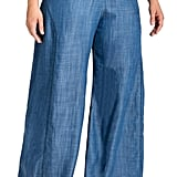 Standards & Practices Perry Tencel Denim Palazzo Pants
