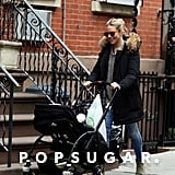 Sienna Miller Strolls Through the City With Baby Marlowe